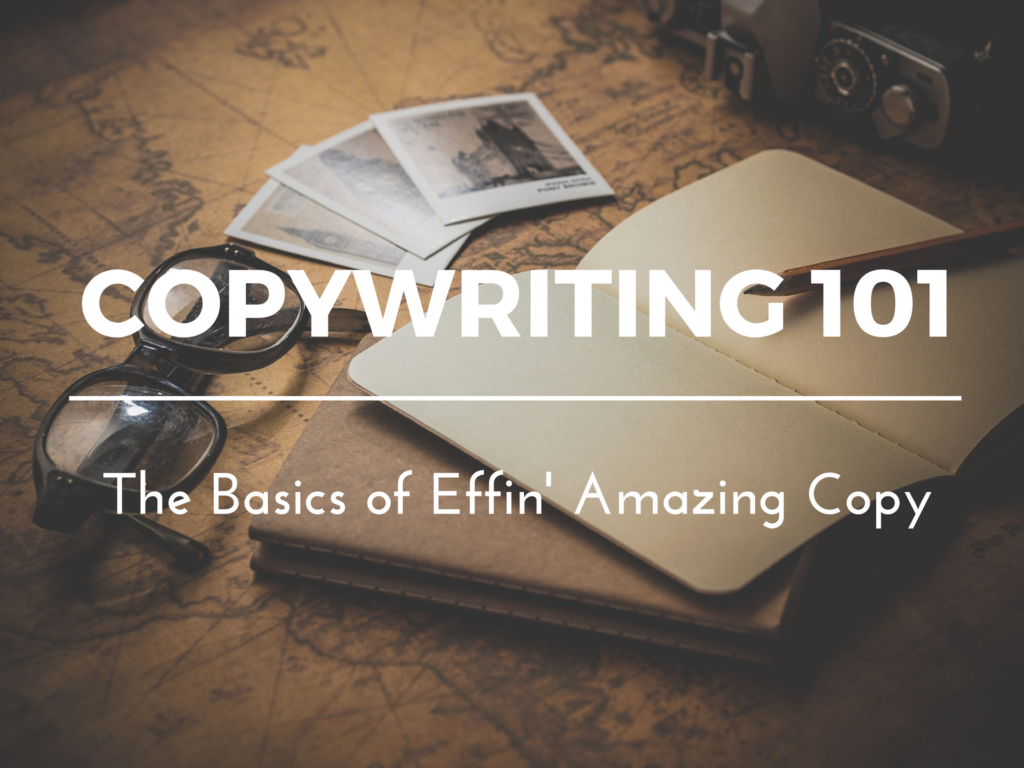 Copywriting, conversion optimisation