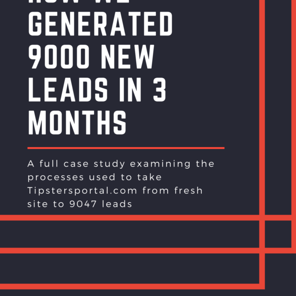 [CASE STUDY] Generating Over 9000 Users in 3 Months