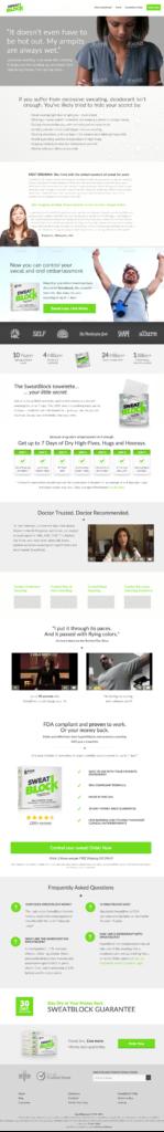Home page copy optimisation